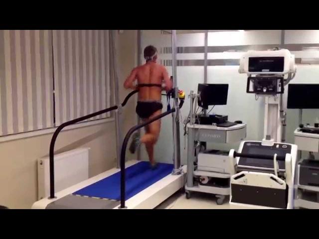 Анаэробный порог и МПК при беге AT VO2max testing