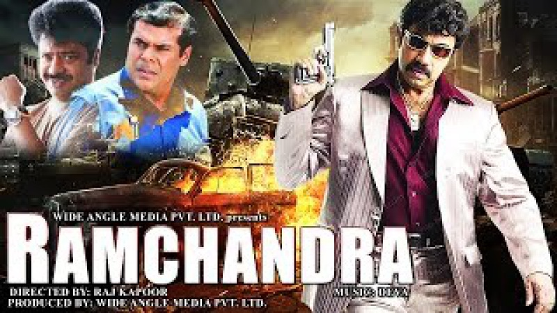 Ramachandra - Sathyaraj | Dubbed Hindi Movies 2015 Full Movie | New Movies 2015 Hindi Movie