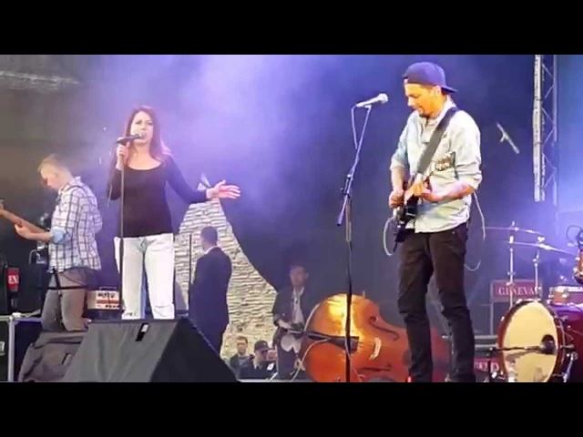 Elina Born Stig Rästa Goodbye To Yesterday live at Narva castle