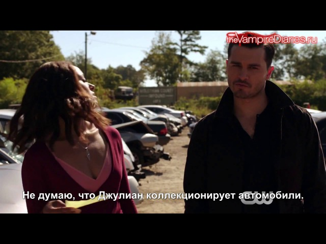 Дневники вампира / Веб-клип к 7x07 «Дорогая мамочка» [Русские субтитры]