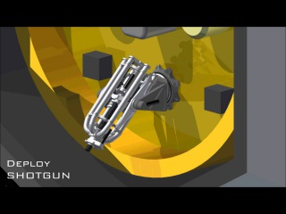Shotgun concept for the NASA Asteroid Redirect Mission (ARM)
