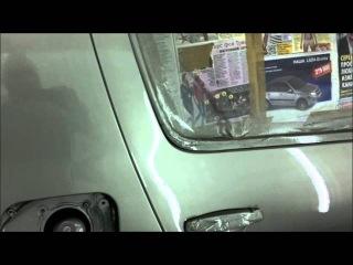 покраска авто в гараже рено сандеро