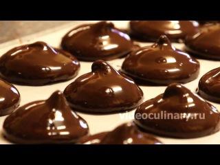 Рецепт - Зефир в шоколаде от http://videoculinary.ru