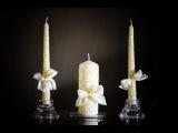 Мастер-класс Свадебные свечи для обряда семейный очаг своими руками