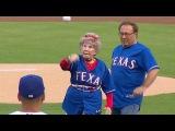 103-летняя женщина показала отличный бросок в команде Rangers