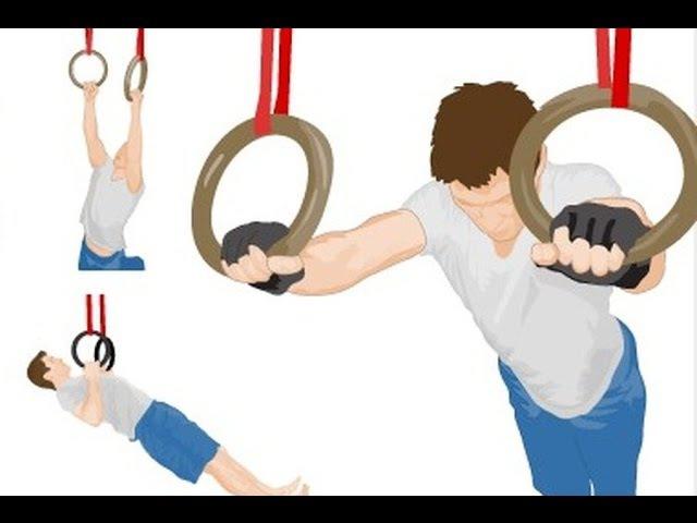 Крутые упражнения на кольцах! О которых возможно Ты не знал! rhenst eghf;ytybz yf rjkmwf[! j rjnjhs[ djpvj;yj ns yt pyfk!