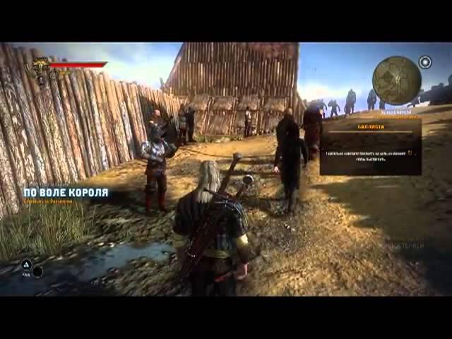Дед Максим играет в The Witcher 2