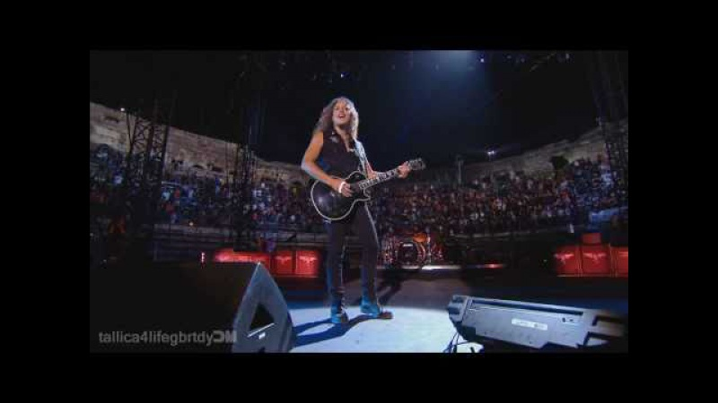 Metallica - Kirk Solo Nothing Else Matters (Nimes, France) 1080p HD