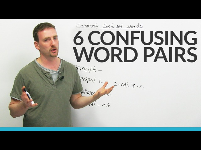 Confusing Words affect effect compliment complement and more