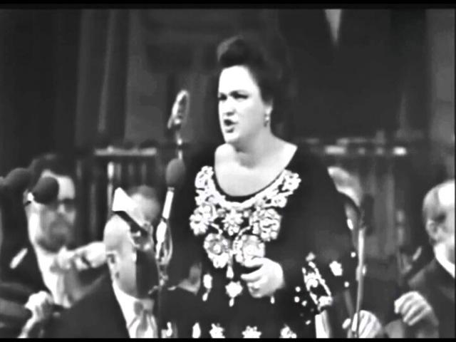 Иди любимый мой родной!.. Враг бешеный на нас пошёл войной Людмила Зыкина Ludmila Zykina Idi Lyubimy
