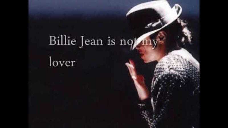 Billie Jean by Michael Jackson w/ Lyrics