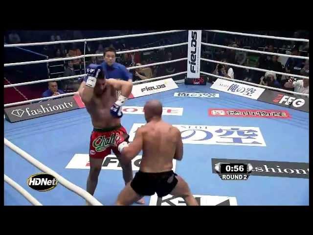 Лучший бой в истории К1 Майк Замбидис - Халид Оулад Ель Хадж
