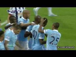 Вест Бромвич 0-1 Ман Сити / гол Туре