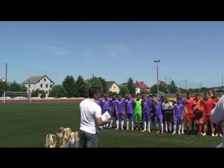 Нагородження чемпіонів та призерів Ч.К.О. з футболу команди 2000-01 р.н. сезон 2014 -2015