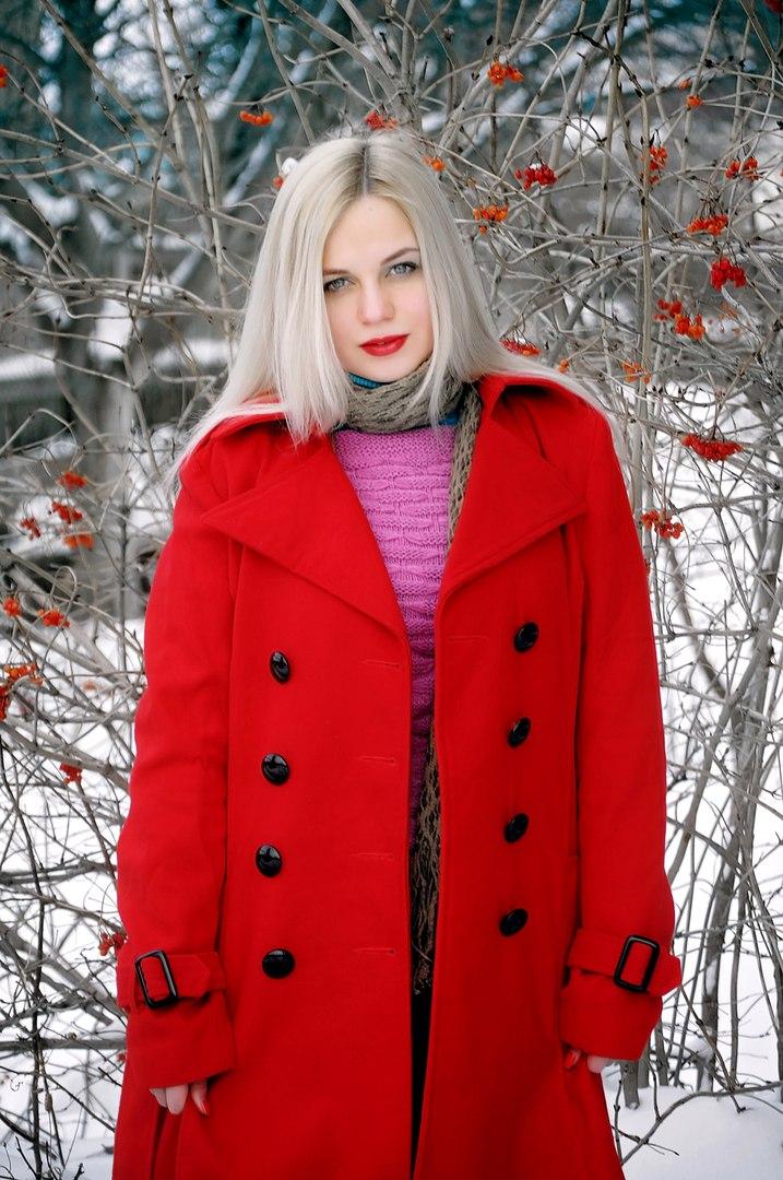 Идея зимней фотосессии
