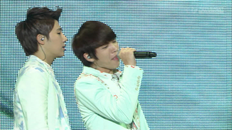 130721 INFINITE - Man In Love Nothings Over BTD (FujiNEXT 2013 SGC Super Live)