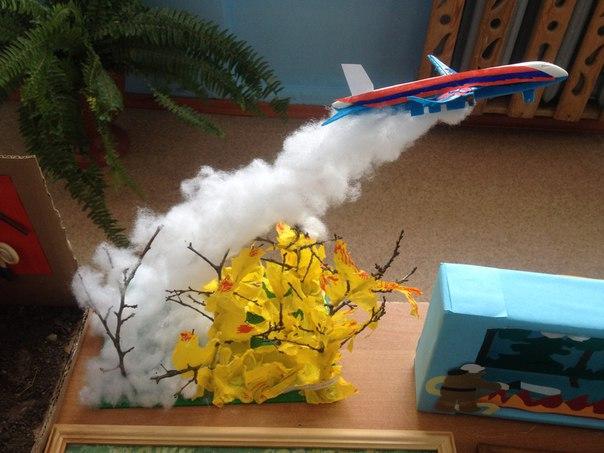 Поделки для детей пожар