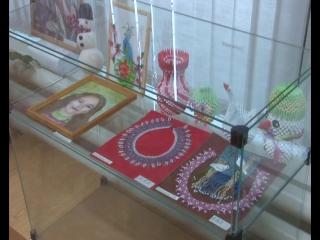 Выставка посвященная 45 - летию протвинской организации ветеранов.