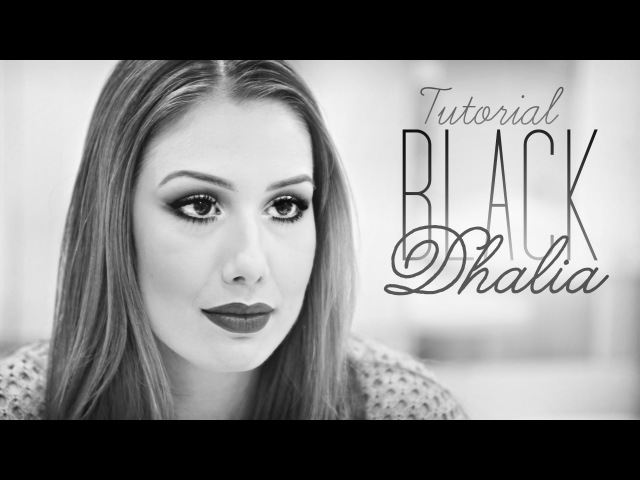Tutorial Make Black Dhalia