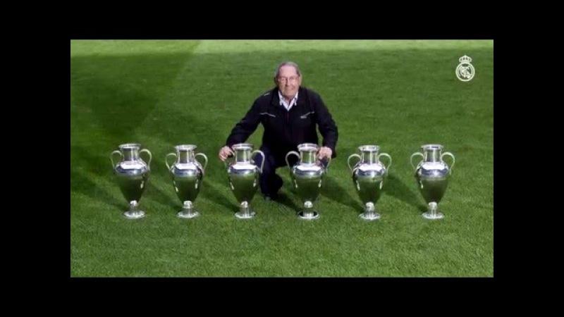 Gento. El único futbolista de la historia con 6 Copas de Europa