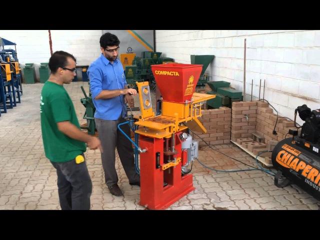 Máquinas para Fabricação de Tijolos Ecológicos