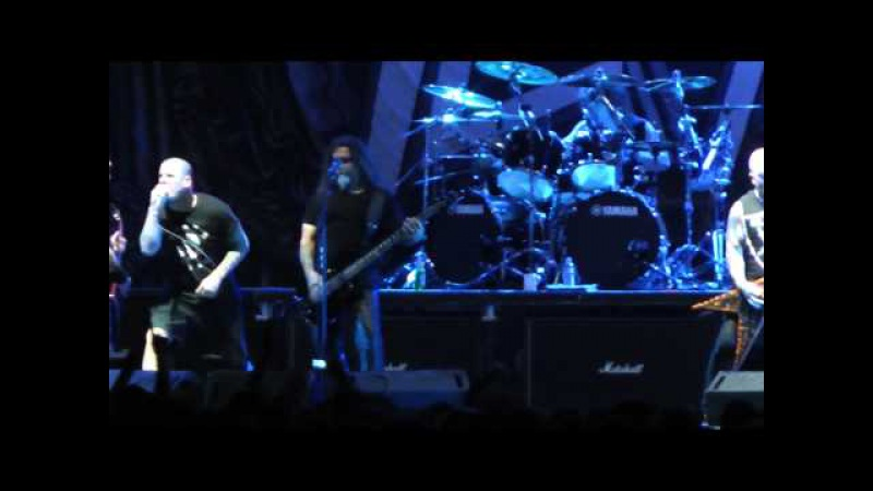 Slayer w Phil Anselmo - Fuckin' Hostile 1 July 2013 Athens, Greece (Pantera Cover)