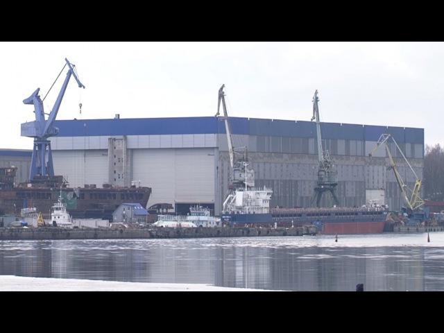 На Невском судостроительном заводе заложили два буксира спасателя
