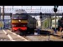 Россия из окна поезда.Нефтяные поля.