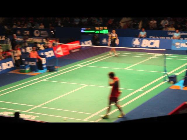 Kenichi Tago Beat Lee Chong Wei in Indonesia Open 2014
