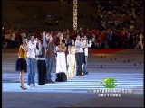 Giorgia Fumanti singing at special Olympics in China