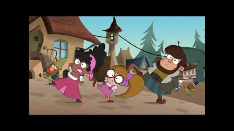 7 гномов Танец семи гномов Большой леденцовый кристалл Сезон 1 Серия 21 Мультфильмы Disney