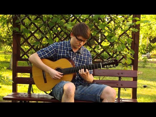 Celtic Irish Music - The Green Island (Classical Guitar)