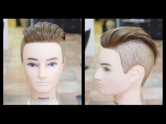 Mens Undercut Haircut Step by Step Tutorial - TheSalonGuy