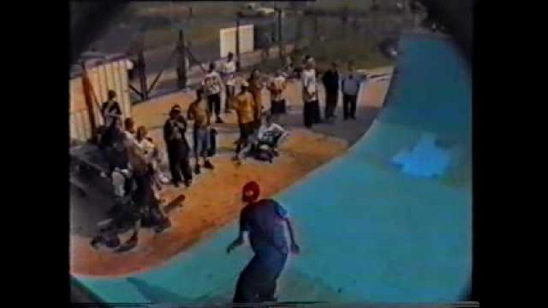 Pro Demo - John Cardiel, Gonz, Salman Agah and Karma Tsocheff at Lea-on-Sea, 1992.