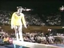 1988 Paul Hunt gymnastics comedy beam routine