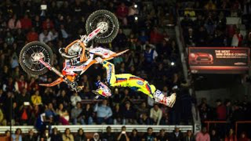 Freestyle Motocross Progression in Mexico - Red Bull X-Fighters 2015