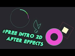 Intro 2D Motion Graphic NEW 2015 - After Effects CC