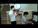 Naruto Shippuden - Guren - Violin, Piano Duet