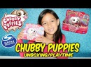 CHUBBY PUPPIES MALTESE SINGLE PACK TOY UNBOXING REVIEW!