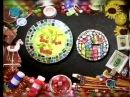 Декупаж В технике мозаика используя компакт диски декорируем тарелку и часы Мастер класс