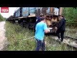 Россия - это когда тепловоз выступает в роли трактора