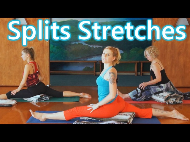 Fun Splits Stretches Workout For Beginners, 20 Minute Yoga For Flexibility How To Do The Splits
