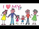 We Are Family Song - My Family and ME! Acoustic Version - ELF Kids Videos
