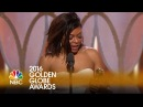Taraji P. Henson Wins Best Actress in a TV Series, Drama - Golden Globes 2016