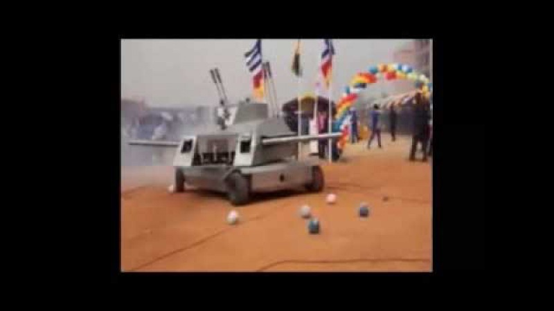 Kantanka Armoured Car and Bomb, made by Apostle Dr. Kwadwo Safo