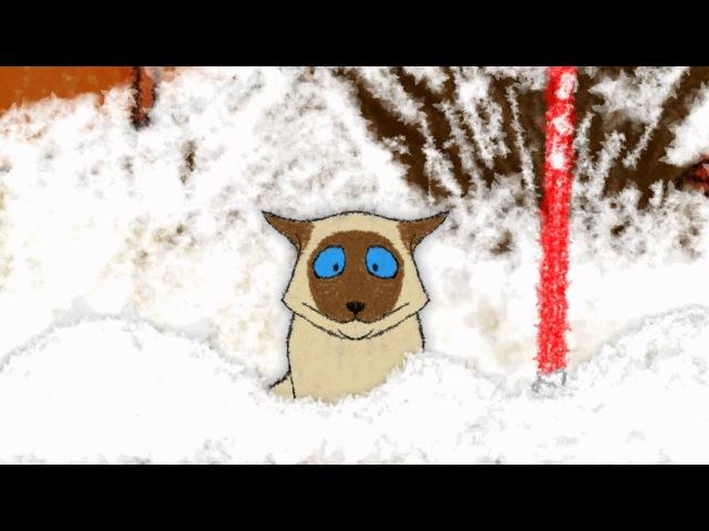 Хоккейный мультфильм Хвостатый хоккей Суровая русская зима