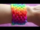 Смотреть видео как плести браслеты из резинок 17