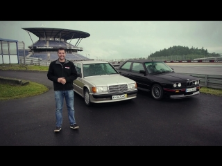 Head2Head 12 BMW E30 M3 Vs Mercedes-Benz 190E 2,3-16 [BMIRussian]