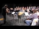 Concert 2016 Ceske Budejovice Bach Magnificat rehearsal