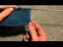 Как обработать край изделия полым шнуром I-CORD